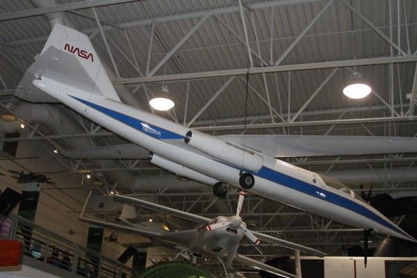NASA AmesDryden AD1 Oblique Wing Hiller Aviation