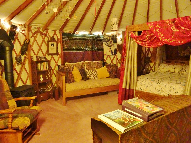 yurt glamping in Seattle, Washington - the tea break project solo travel blog