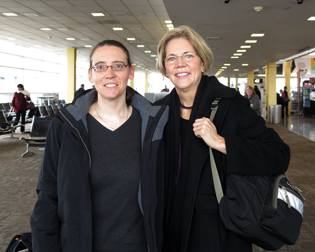 Senator Elizabeth Warren And Jean United States Senator
