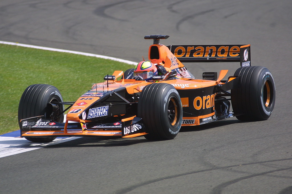 Enrique Bernoldi Arrows A22 Asiatech V10 A LEAD