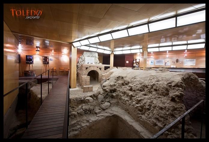 Restos arqueológicos de las Termas Romanas de Toledo. Foto: David Utrilla.