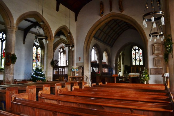 Inside St Mary's Church, Painswick | The church of St Mary ...