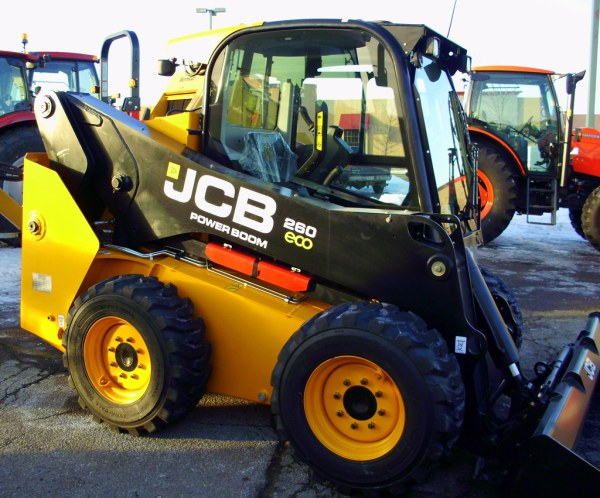 JCB 260 ECO Power Boom Skid Steer. | Mark | Flickr