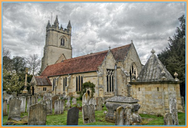 St. Mary's Church Chiddingstone Kent   This is the ...