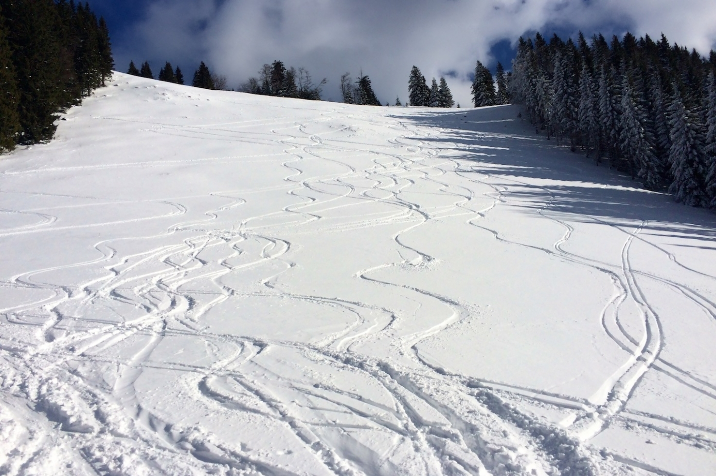 Podepsaná vrcholová loučka