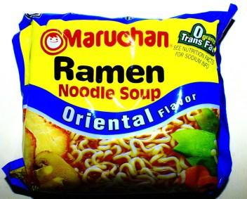 Ramen Noodle Soup Oriental Flavor