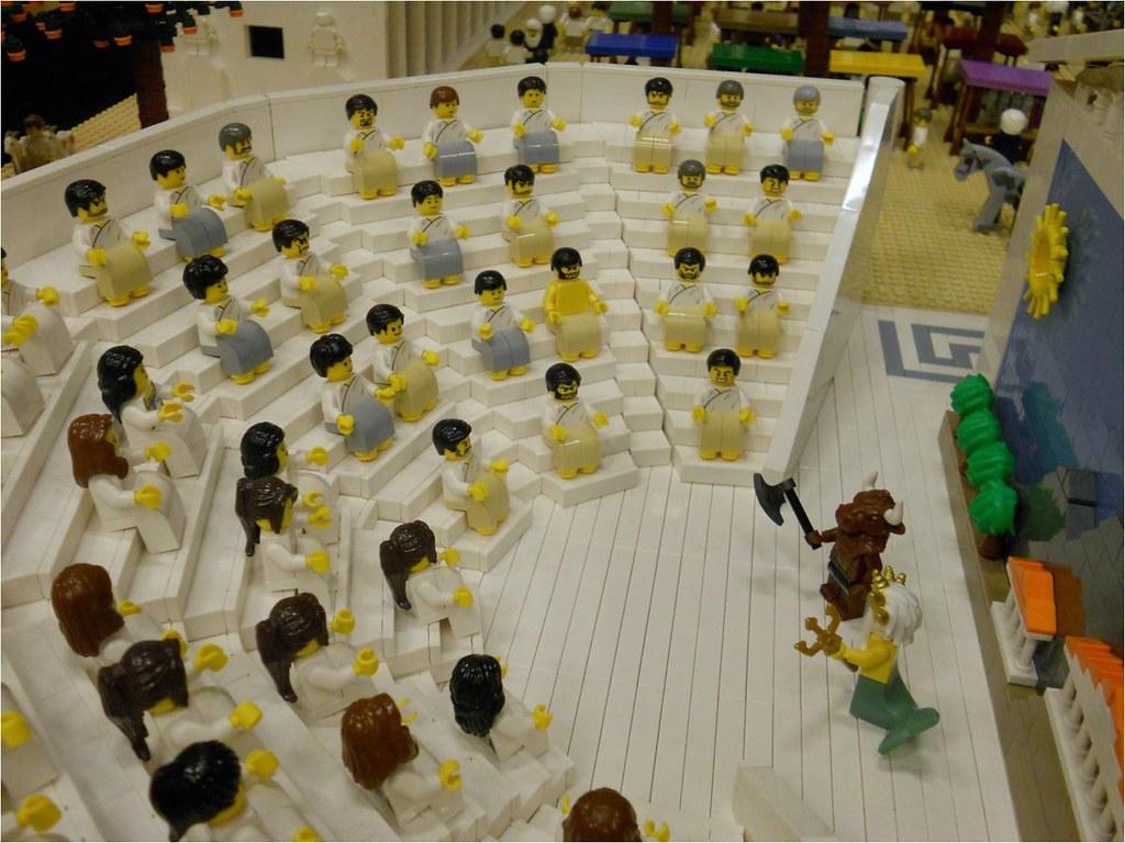 LEGO Ancient Greek Theatre Part Of Ancient Greek LEGO