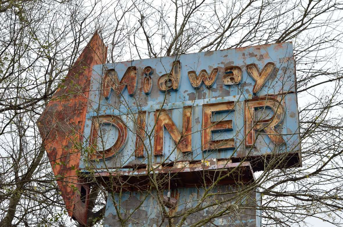 Midway Diner - Marion, South Carolina U.S.A. - March 24, 2013