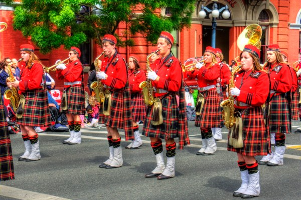 Mount Baker High School Tartan | Victoria Day Parade ...