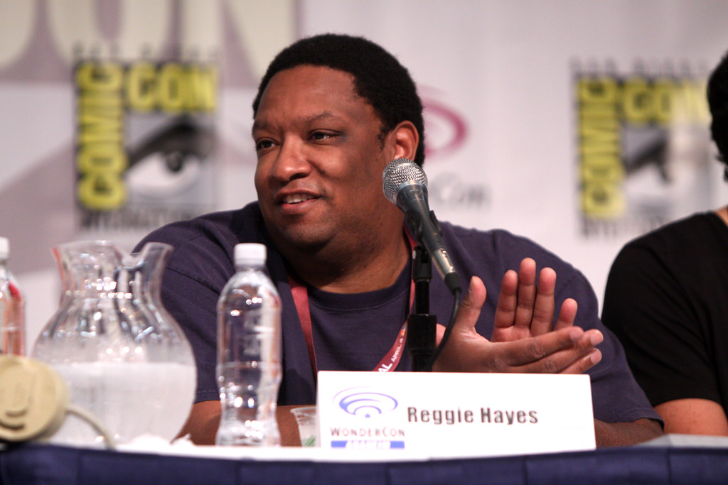 Reggie Hayes Reggie Hayes Speaking At The 2013 WonderCon