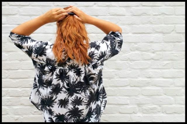 japanese blouse (back)