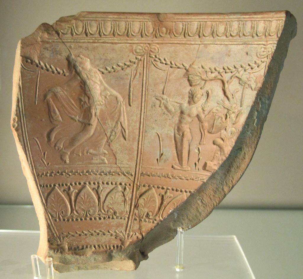 Samian Ware In Italy Archaic Roman Ceramica Sigillata Ar