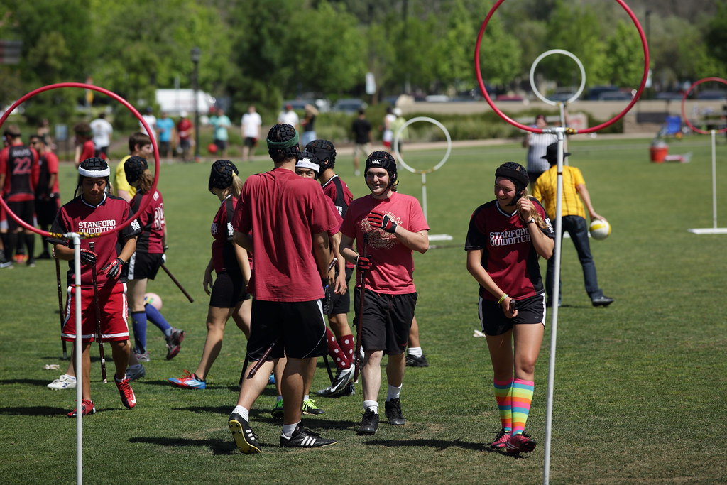Quidditch Its Funny That They Made This Into An Actual Sp Flickr