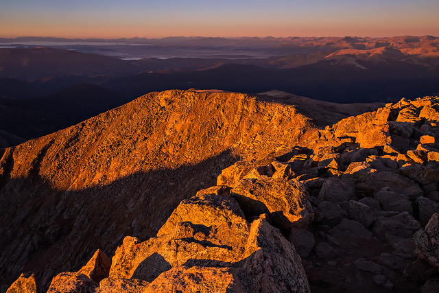 Mount Bierstadt Sunrise