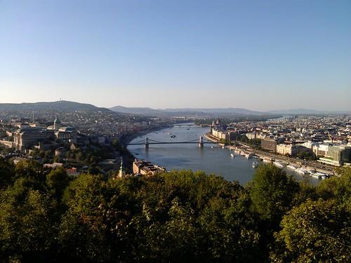 Patrimonio de la Humanidad en Europa y América del Norte. Hungría. Riberas del Danubio en Budapest.