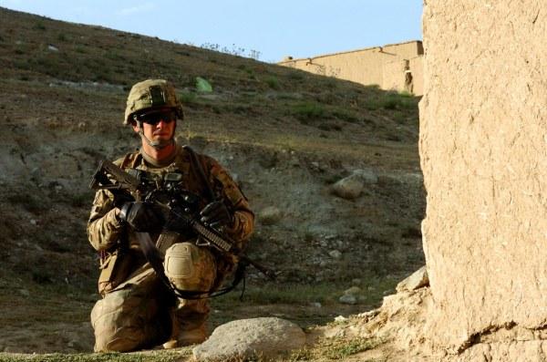 Early Morning Patrol | U.S. Army Sgt. Jordan Cascio and ...