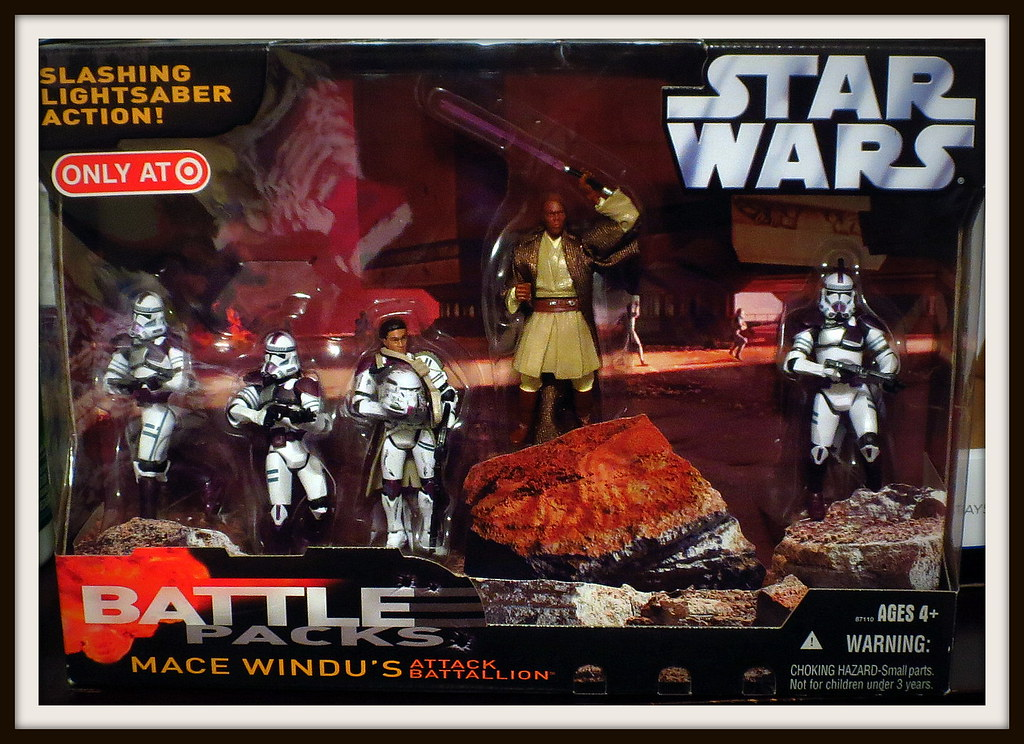 Mace Windu 187th Legion Attack Battalion 2006 Target