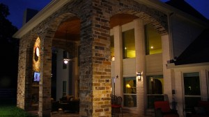 Outdoor Living Project Double Arched Patio Cover Sneak