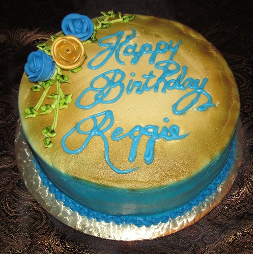 Reggie S Birthday Cake 9 2 12 10 X 3 Inch Vanilla Cake