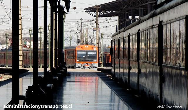 Metrotren | Estación Alameda | CAF UT440R 103 / 201