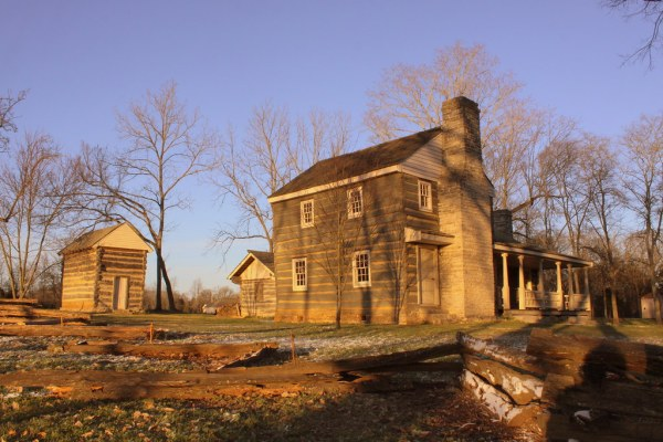 Boyhood Home and smokehouse of Nathan Bedford Forrest