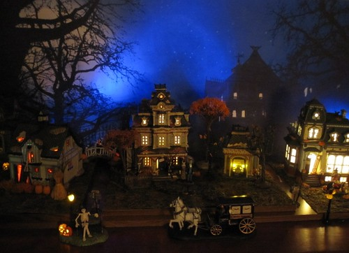 Dept 56 Lemax Spooky Town Halloween Village Display 2012