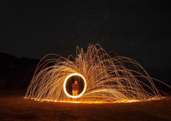 Low Light Magic- Howard Ignatius is in the circle.   Flickr