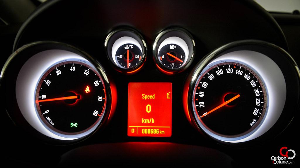2013 Opel Astra GTC Dashboard Lightsjpg Carbon Octane