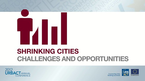 """Pictogram of the workshop """"Shrinking Cities: Challenges an ..."""