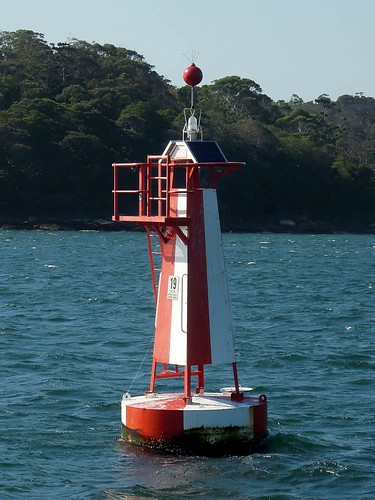 Western Channel Marker, Sydney Harbour | Channel markers ...