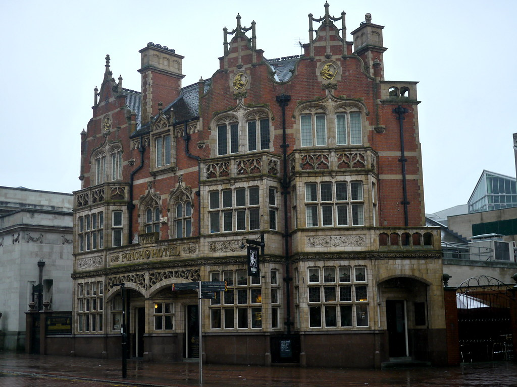 The Punch Hotel Strange And Wonderful Victorian Building