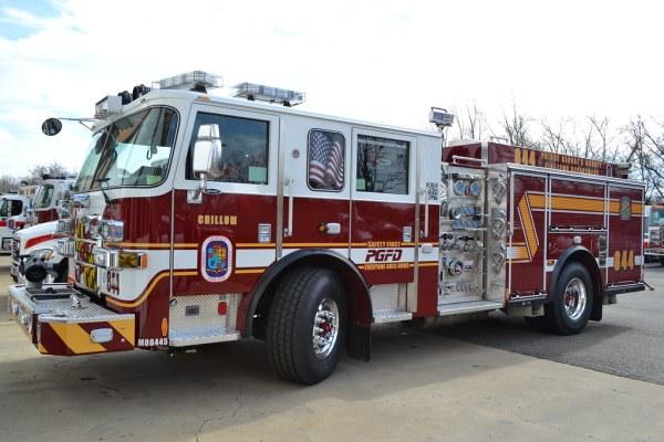 PGFD Paramedic Engine 844   Prince George's County Fire ...