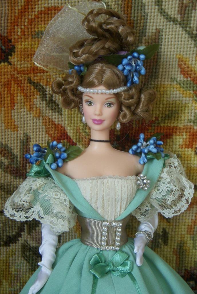 Barbie Victorian With Cedric Bear Nata Leto Flickr