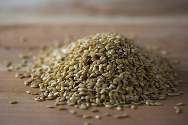 Image result for golden flaxseeds