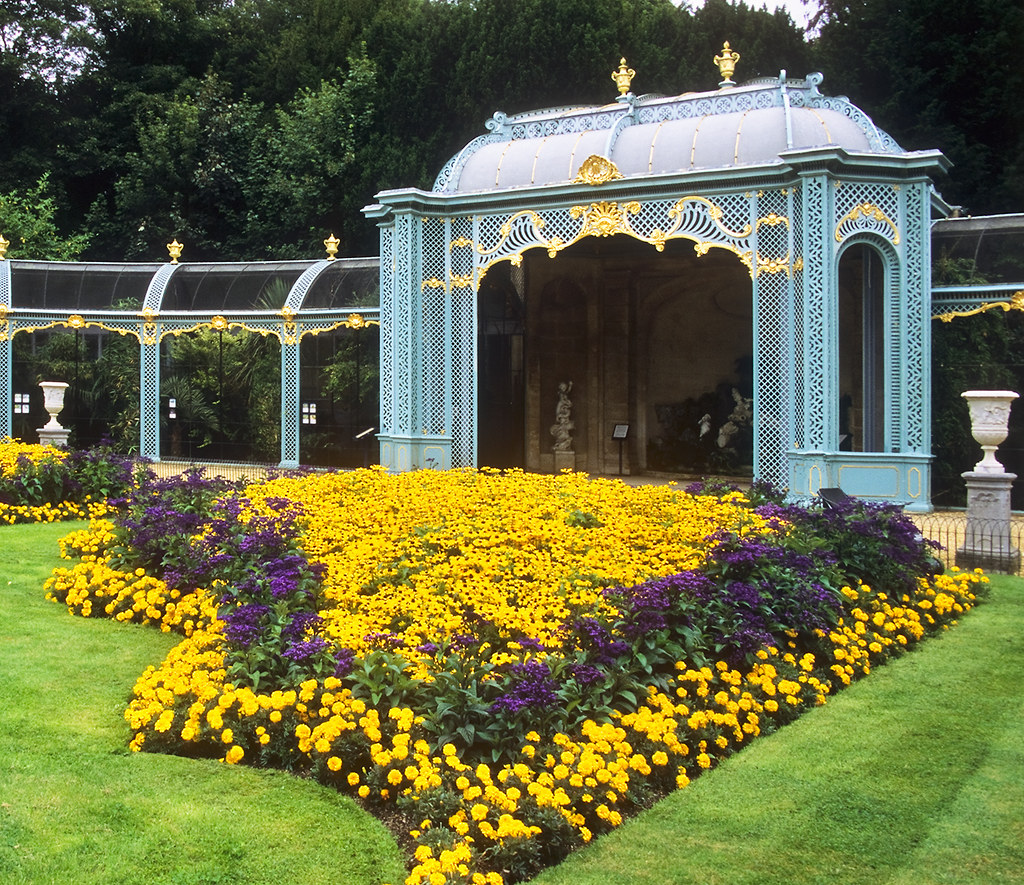 Waddesdon Manor Gardens Buckinghamshire UK Victorian A