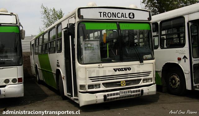 406 Transantiago | Express | Busscar Urbanuss - Volvo B10M / TH6994