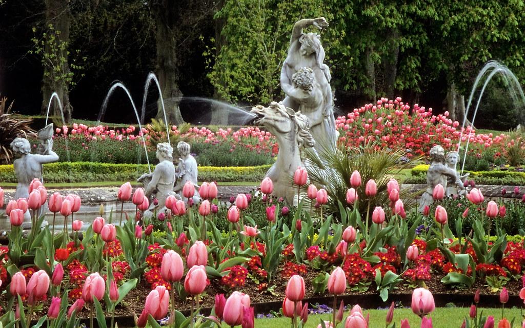 Waddesdon Manor Gardens Buckinghamshire UK Outstanding