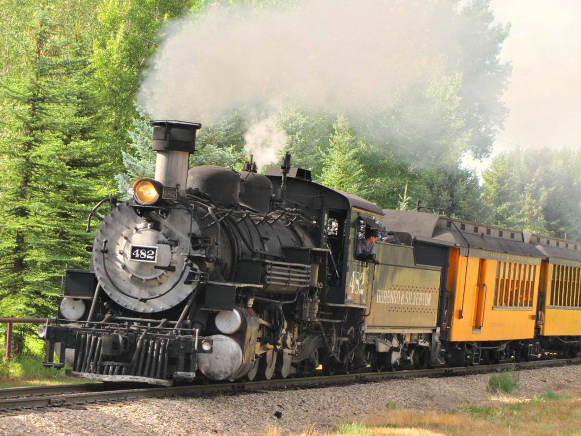 Durango and Silverton Narrow Gauge Railroad - Colorado U.S.A. - July 26, 2012
