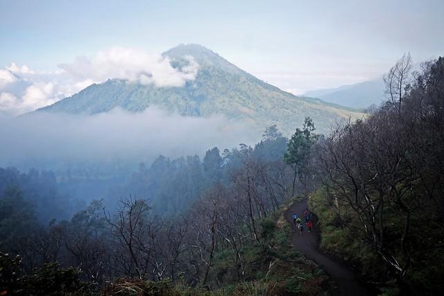 Mt. Merapi at Ijen Volcano Complex