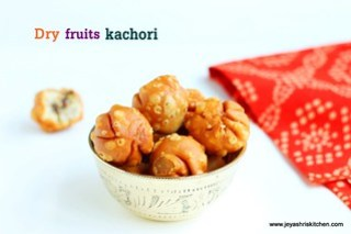 Dry fruits kachori