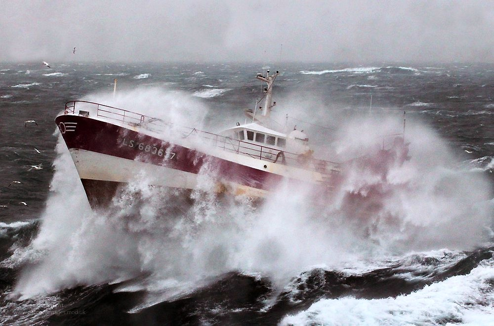 French Fishing Vessel Alf In The Irish Sea The French Fi Flickr