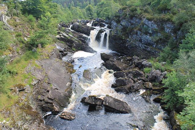 Salmones en las Highlands