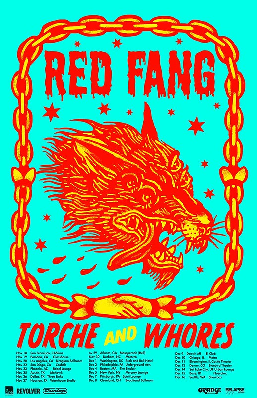 Red Fang at Rock & Roll Hotel