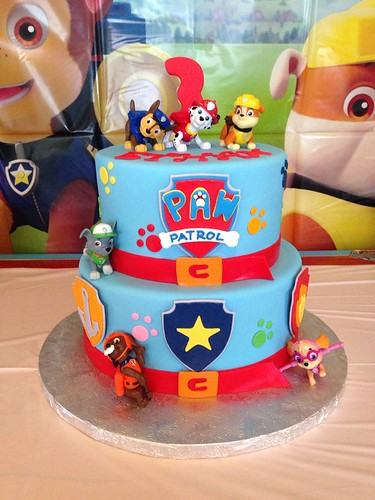 tortas de paw patrol decoraci n de tortas de patrulla canina para cumplea os blogichef. Black Bedroom Furniture Sets. Home Design Ideas
