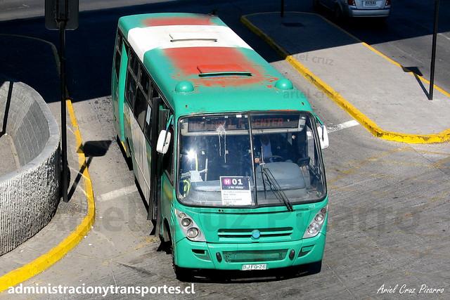 Transantiago H01 | Buses Vule | Caio Foz - Mercedes Benz / BJFG26