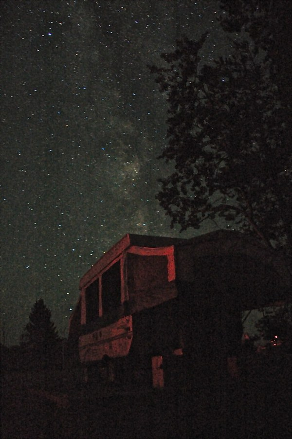 My accommodations at the Saskatchewan Summer Star Party ...