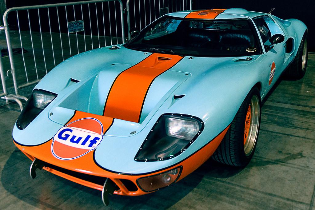 1969 Ford GT40 Exposición zero300