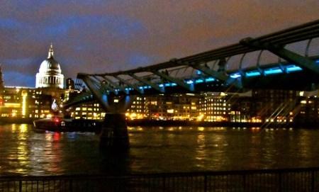 Millennium Bridge & St. Paul Cathedral