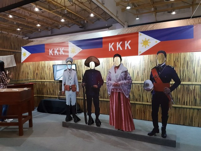At the Heneral Luna booth at History Con