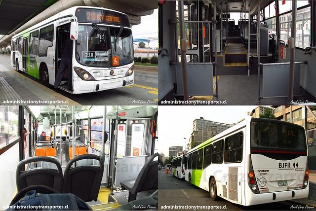 Collage Marcopolo Gran Viale - Volvo B7R LE (Subus / Transantiago)
